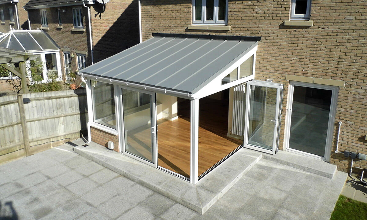Upvc Lean To Conservatory With Solid Roof Renaissance