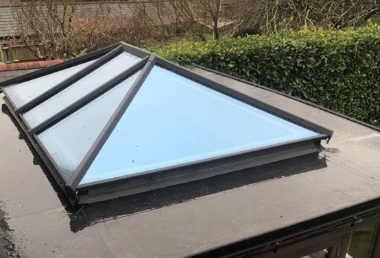 Case study supalite flat roof orangery in Plymouth 1
