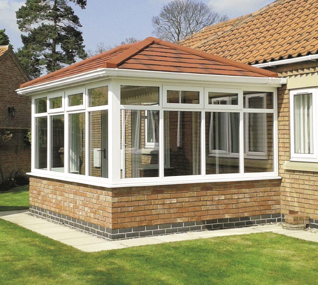 Supalite Brown Tiled Roof