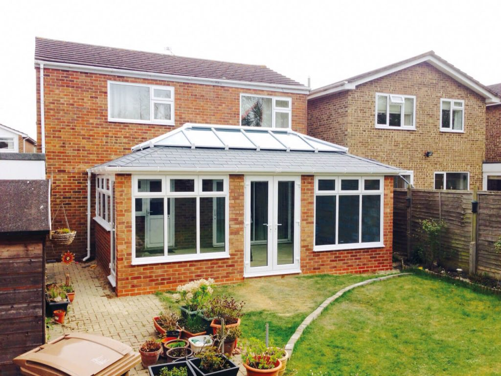 Supalite tiled roof orangery